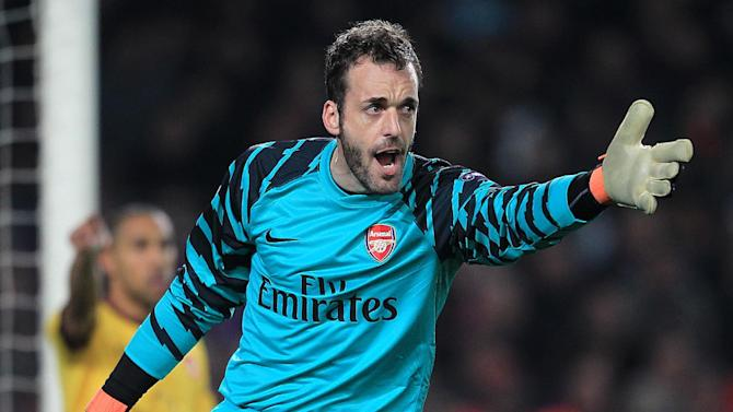 Manuel Almunia is one of seven new signings at Watford
