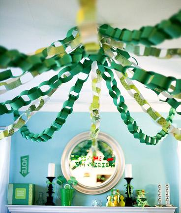 Green Party Paper Chains