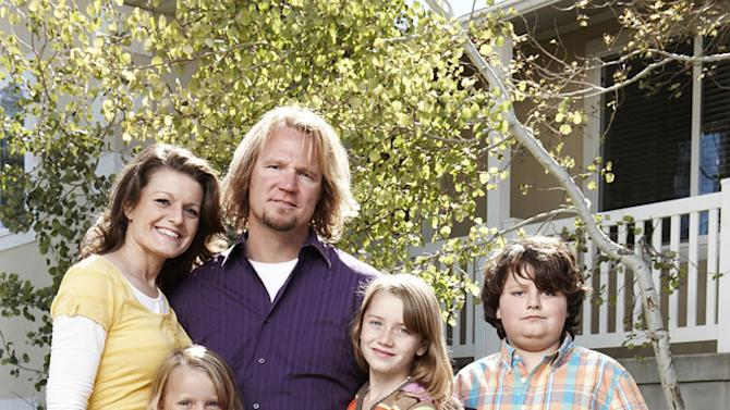 """Robyn, Breanna, Kody, Aurora and Dayton as seen on """"Sister Wives."""""""