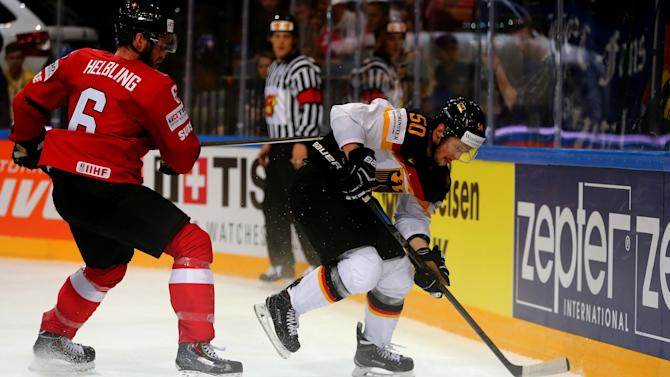Switzerland v Germany - 2015 IIHF Ice Hockey World Championship