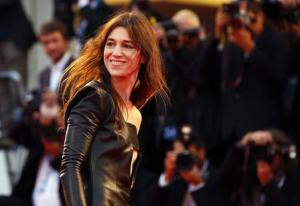 "Cast member Gainsbourg poses during the photo call for the movie ""Nymphomaniac II"" at the 71st Venice Film Festival"