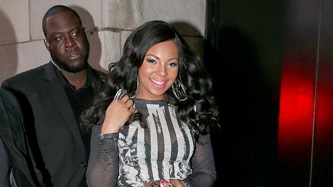Ashanti spotted leaving the MTV Studios in Times Square, New York City