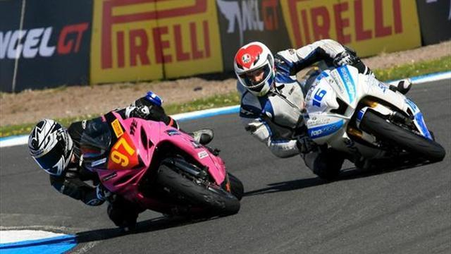 Superbikes - Knockhill BSB: Tasker clinches maiden KMSC Superstock 600 podium