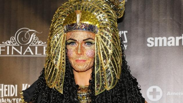 Heidi Klum as Cleopatra at her Haunted Holiday Party at FINALE Nightclubin New York City on December 1, 2012 -- Getty Premium