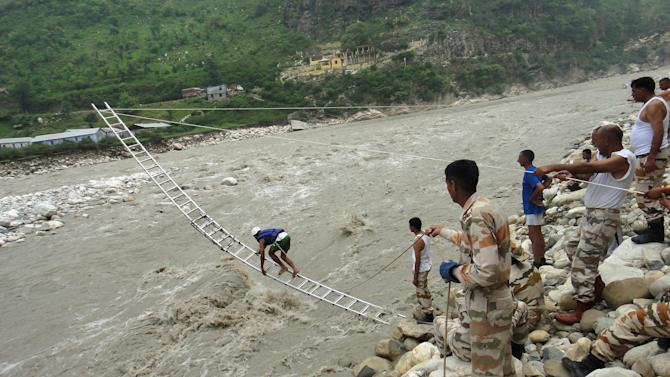 Bad weather, landslides hurt rescue ops in Uttarakhand