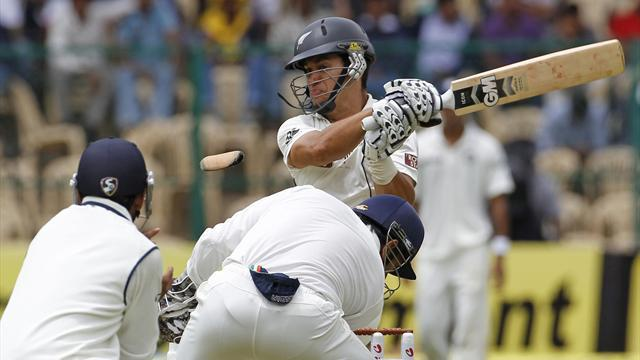 Taylor sets tone with attacking hundred