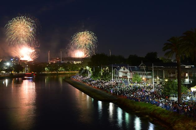 Melbourne Celebrates New Year's Eve 2013