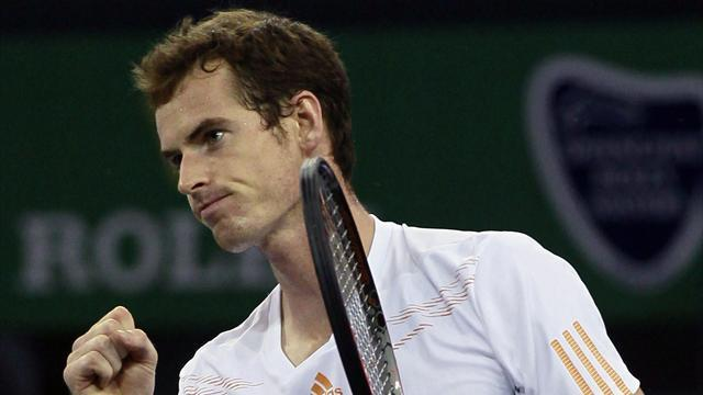 Murray to face Federer in Shanghai Masters semi-finals