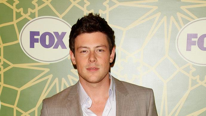 "Cory Monteith (""Glee"") attends the 2012 Fox Winter TCA All-Star Party at Castle Green on January 8, 2012 in Pasadena, California."