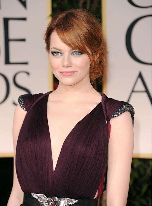 HIT: Emma Stone works her red hair and fair complexion better than any modern actress today. I never thought an icy tone would work with such a warm hair color, but she pulls it off. Her eyes are pier