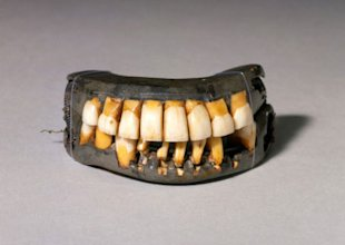 Otra de las dentaduras del presidente George Washington
