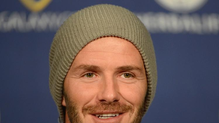 2012 MLS Cup - David Beckham Press Conference
