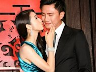 Ariel Lin holds an engagement party