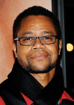 """FILE - In this April 18, 2012 file photo, actor Cuba Gooding Jr. attends the Tribeca Film Festival opening night premiere of """"The Five-Year Engagement"""" at the Ziegfeld Theatre in New York.  Gooding Jr., Vanessa Williams and Condola Rashad will be joining Cicely Tyson in the play, """"The Trip to Bountiful."""" Opening night is set for April 23, 2013. (AP Photo/Evan Agostini, File)"""