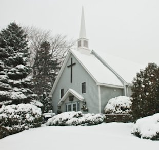 Some churches are cutting services or staying closed on Christmas Day.