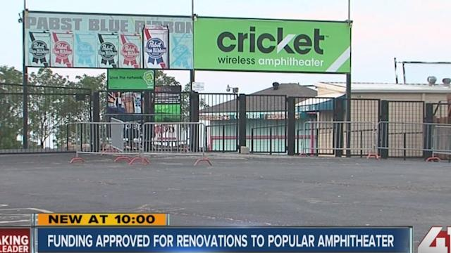 Cricket Wireless Amphitheater gets nearly $1 million in bond money for renovations