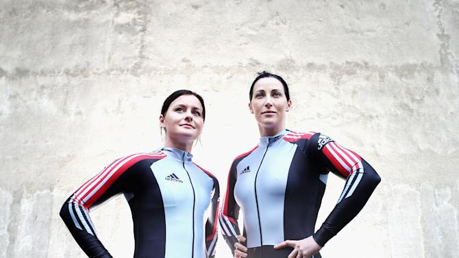 Australian Women's Bobsleigh Team Portrait Session