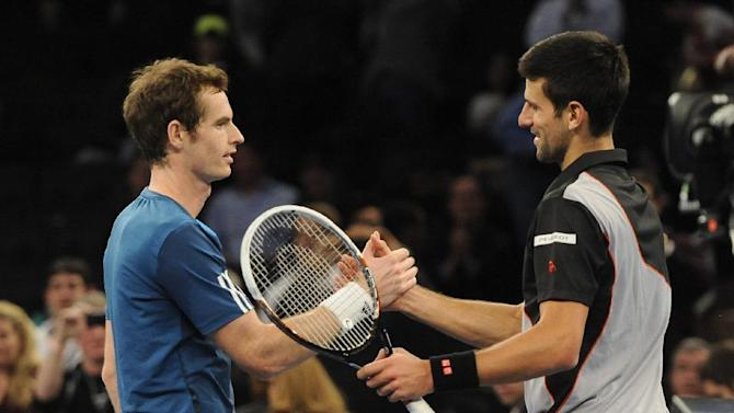 Djokovic beats Murray at Madison Square Garden