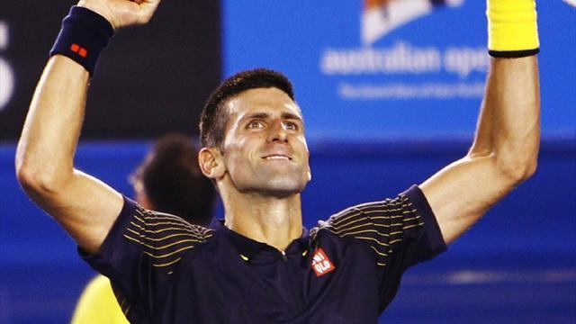 Australian Open - Djokovic beats Murray for third successive title