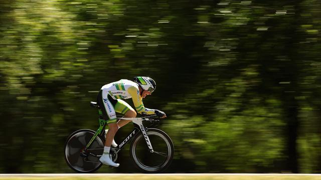 Durbridge leads after time trial win in Poitou-Charentes