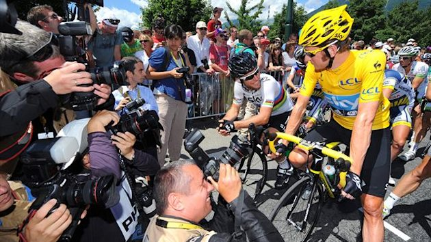 2012 Tour de France Mark Cavendish Bradley Wiggins