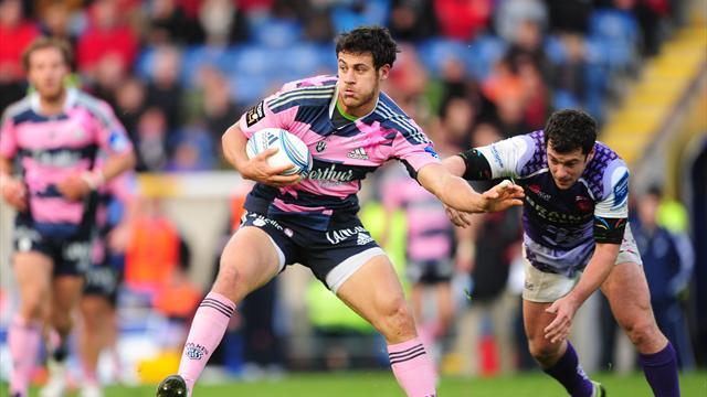 Stade Francais teach London Welsh tough lesson