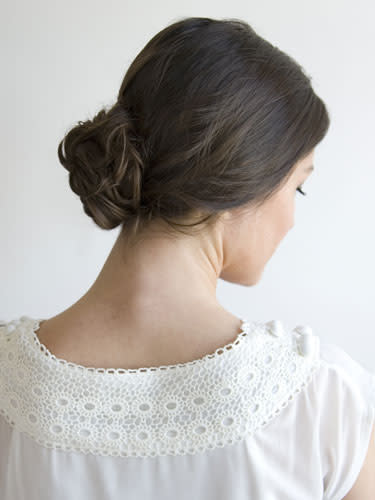 The neat chignon