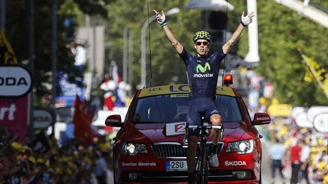 Tour de France - Costa goes solo for win before late Froome-Contador drama