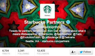 How to be Successful Using Twitter for Internal Communications image Starbucks partners 600x354