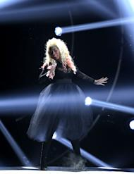 Nicki Minaj performs at the BET Awards on Sunday, July 1, 2012, in Los Angeles. (Photo by Matt Sayles/Invision/AP)