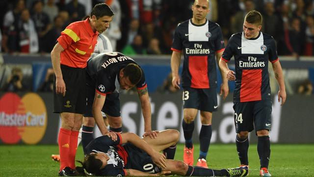 Ligue 1 - Ibrahimovic out for a month, missing Chelsea second leg