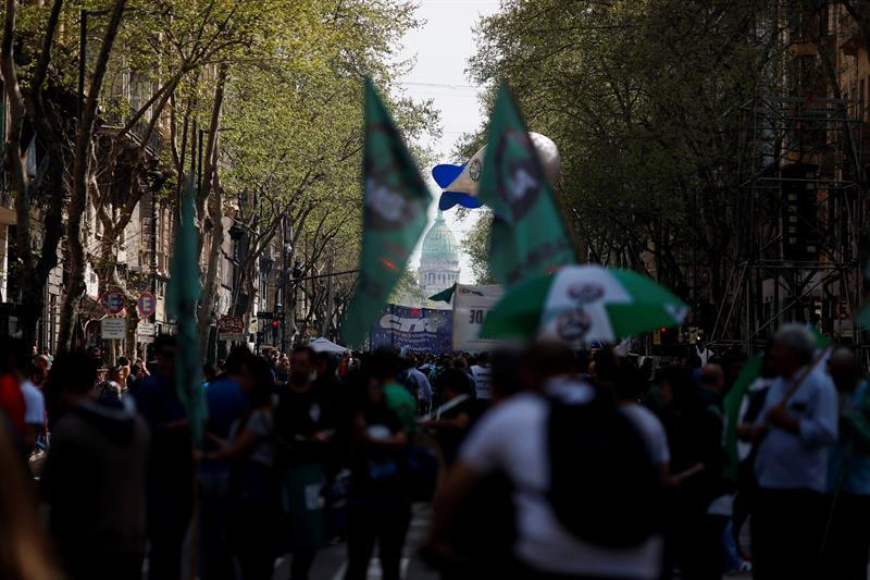 """El Gobierno argentino se compromete a """"trabajar por el orden"""" durante la huelga"""