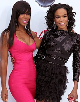 Kelly Rowland & Michelle Williams Babysit Blue Ivy