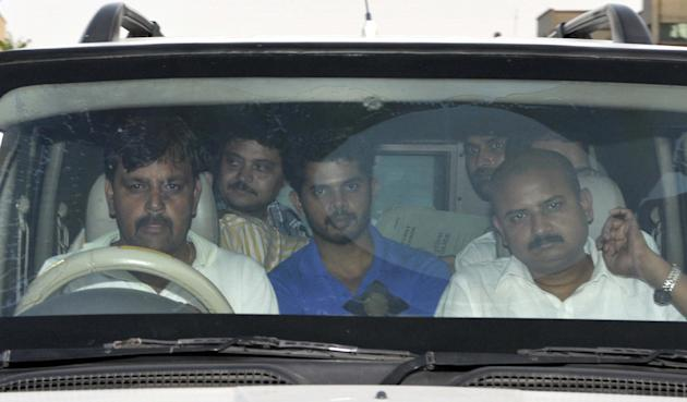 Indian Cricketer S Sreesanth Produced In Court