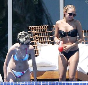 PIC: Nicole Richie Strips Down to Bikini for Post B-day Weekend