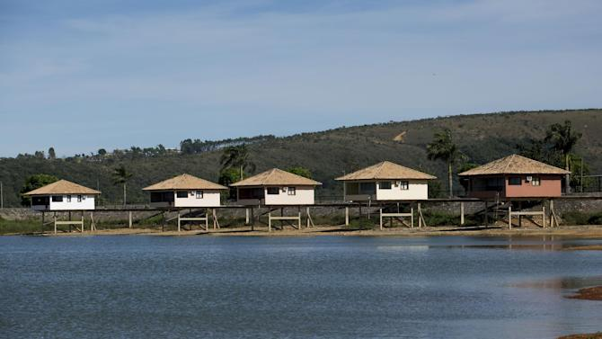 This Feb. 4, 2014 photo shows the JN Resort in Sete Lagoas, Brazil. Uruguay's soccer team will be based at this resort hotel during the 2014 FIFA World Cup tournament