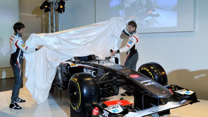 Sauber F1 Launch