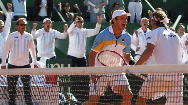 Davis Cup - Argentina eye France upset in Buenos Aires