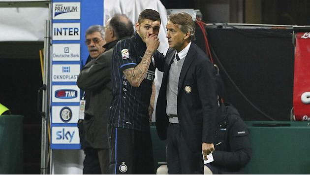 'Impossible' to compare Icardi and Higuain - Mancini