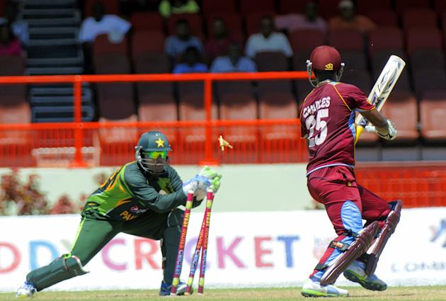 CRICKET-WINDIES-PAKISTAN