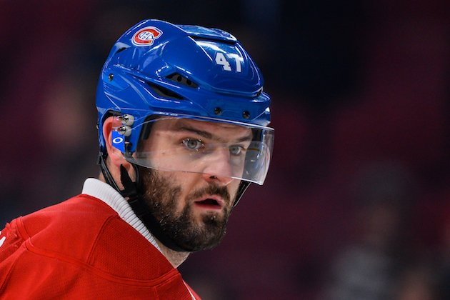 MONTREAL, QC - NOVEMBER 08: Alexander Radulov #47 of the Montreal Canadiens looks on during the warmup prior to the NHL game against the Boston Bruins at the Bell Centre on November 8, 2016 in Montreal, Quebec, Canada. The Montreal Canadiens defeated the Boston Bruins 3-2. (Photo by Minas Panagiotakis/Getty Images)