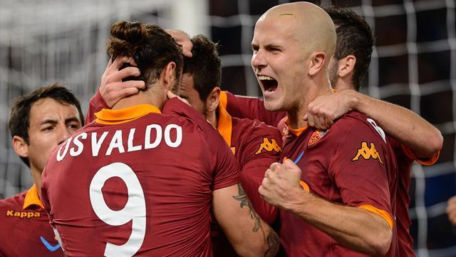 Serie A - Roma leave it late to sink Torino