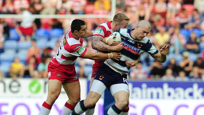 Rugby League - Super League - Wigan Warriors v Bradford Bulls - DW Stadium