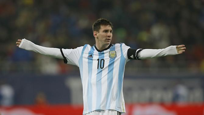 Barcelona coach says something is wrong with Messi