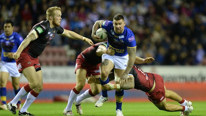 Rugby League - Super League - Wigan Warriors v Leeds Rhinos - DW Stadium