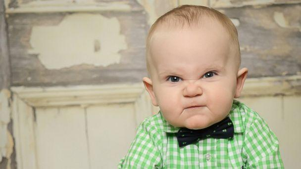 Grumpy Baby Becomes Instant Internet Sensation