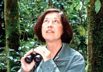 Patricia Wright , a primatologist/conservationist profiled in First Look's Me & Isaac Newton