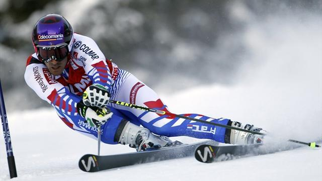 Alpine Skiing - Theaux fastest in Bormio downhill practice