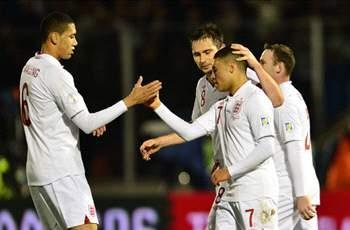 England remain seventh in latest Fifa world rankings
