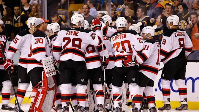 New Jersey Devils v Boston Bruins